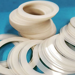 Plastic washers and fasteners