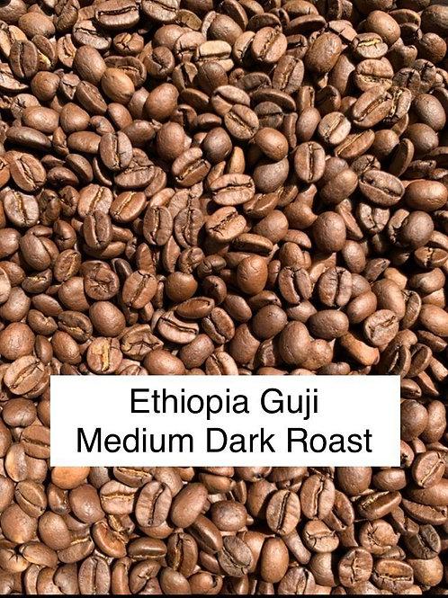 Ethiopia Guji Washed Roasted Coffee