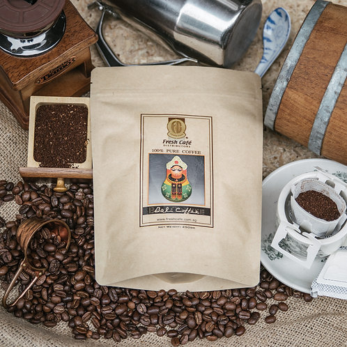 Bali Roasted Coffee - Grounds in Drip Bags 15g - 10sac + 2sac FREE