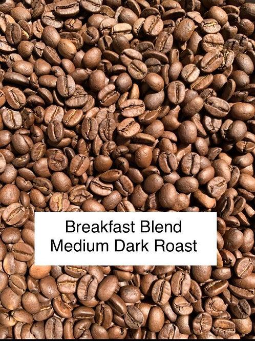 Breakfast Blend Roasted Coffee