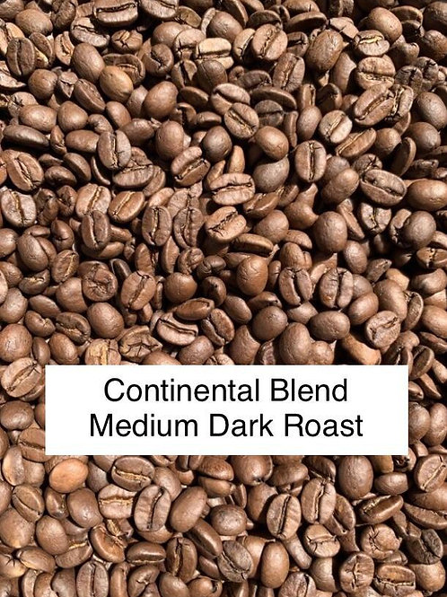 Continental Blend Roasted Coffee