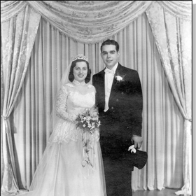 Faigie & Benny Libman's wedding day
