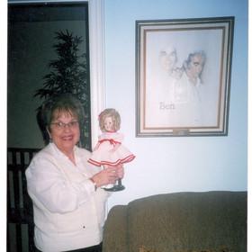 Faigie & her Shirley Temple Doll