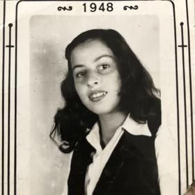Faigie's first Canadian school photo