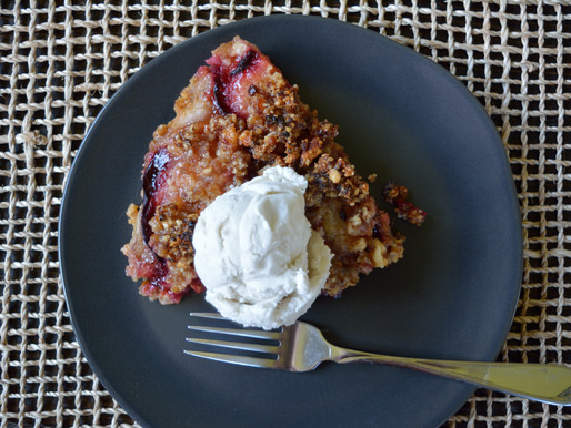 Commentary on a Monday (and Paleo Plum Pie)