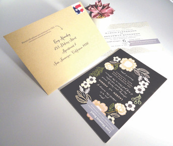Letter with reply card