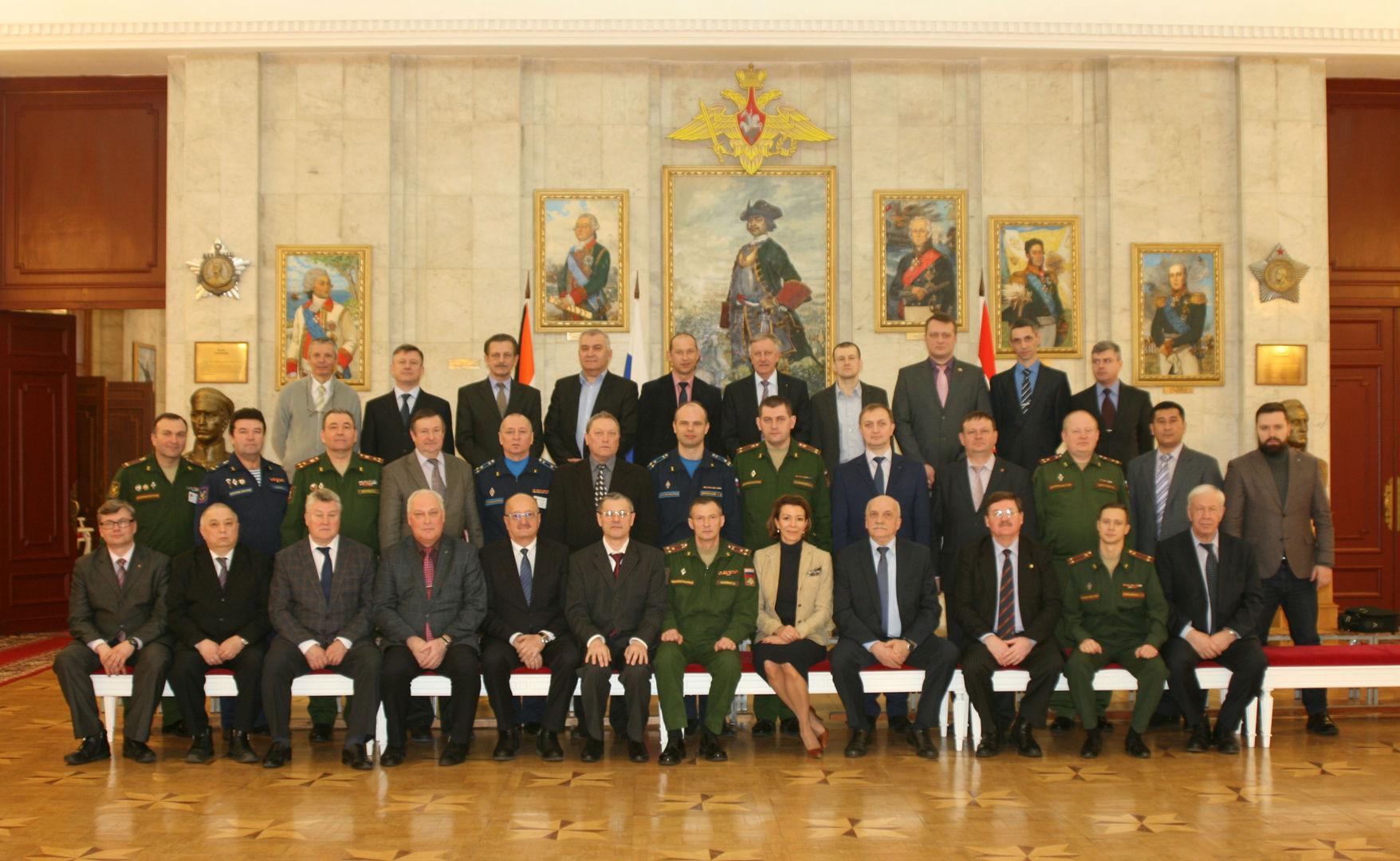Участники семинара ВАГШ