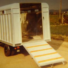 Voll ALU-Viehaufbau anno 1980 Typ Probst