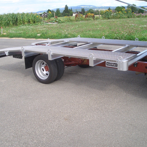 Extrem leichter Autotransporter Aufbau