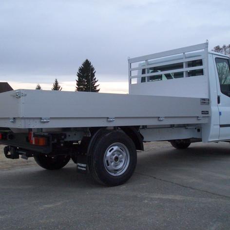 Offener voll Offene ALU-Aufbauten Probst Fahrzeugbau