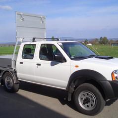 Offene ALU-Aufbauten Probst Fahrzeugbau