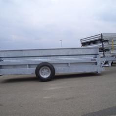 Absenkbarer Container-Transporter