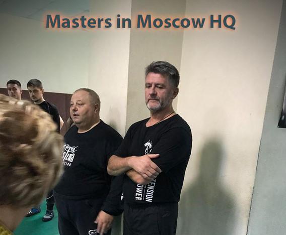 Mikhail Ryabko & Vladimir Vasiliev in Moscow - October 2018