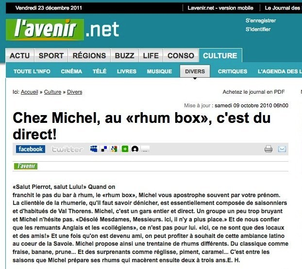 Article L'Avenir.net