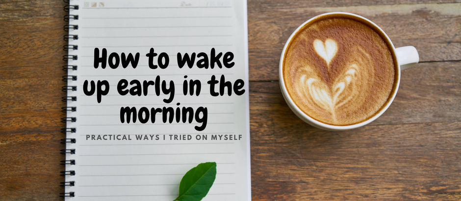 Setting Up Morning Rituals- Part 2/3: Tacts to become a morning person
