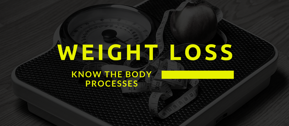 Weight Loss: Know the Body Processes for a long-term result