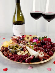 charcuterie and wine