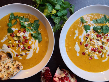 Moroccan Curry Squash Soup