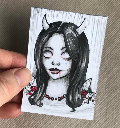 Vampy Original Sketchcard