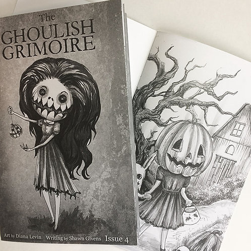 The Ghoulish Grimoire -Zine Issue 4
