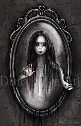 The Mirror Bloody Marry Art
