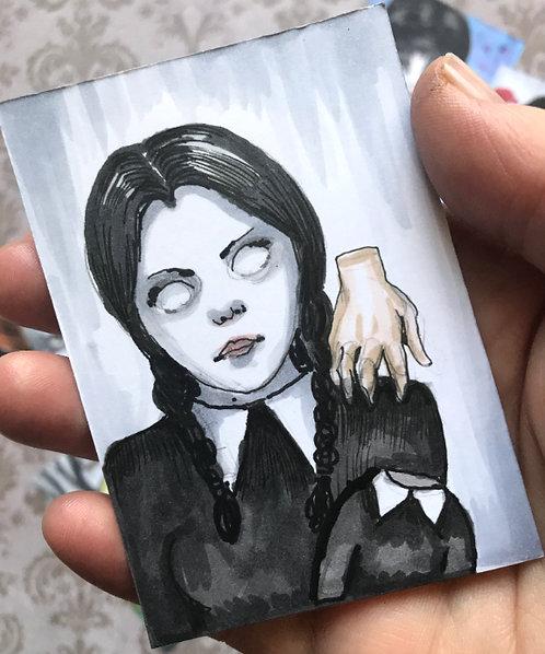 Reserved for Holly - Original Sketchcards