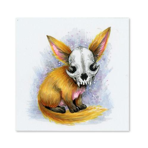 Lucky Fox Original Drawing