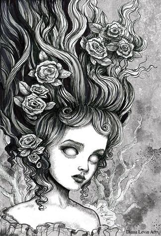 Deadra Gothic Fantasy Art
