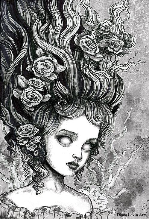 "Deadra 11"" x 17"" Art Print"