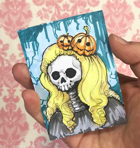 Pumpkinhead Original Sketchcard