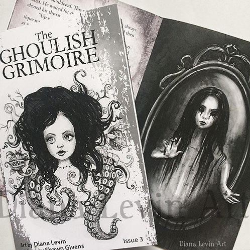 The Ghoulish Grimoire -Zine Issue 3