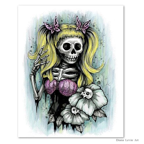 "Crissy Skully- 8"" x 10"" Art Print"