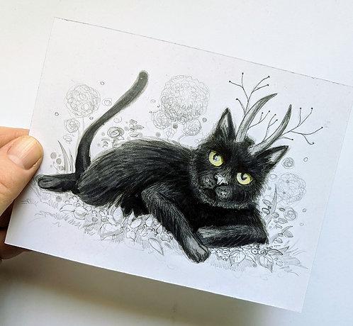 Jinx Original Drawing