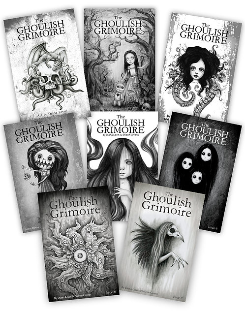 Ghoulish Grimoire - All 8 Issues