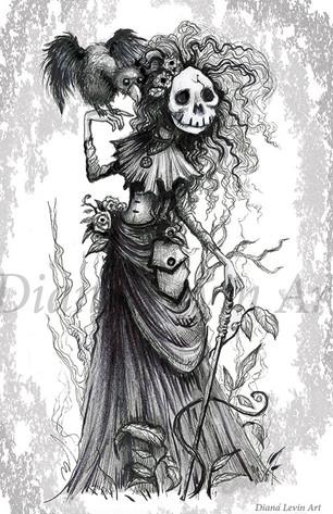 Spooky Witch Art