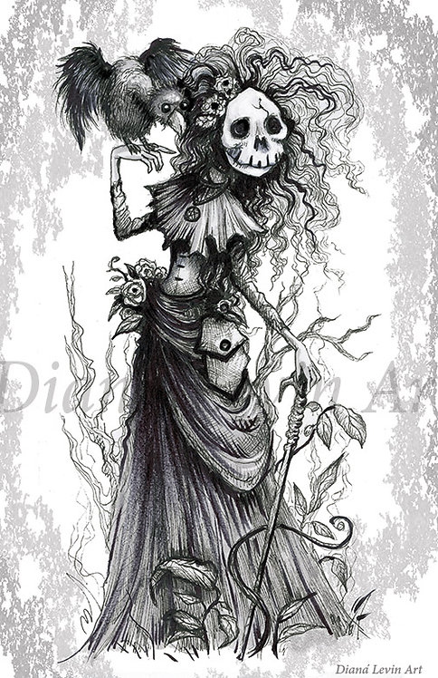 """The Witch 11"""" x 17"""" Art Print"""