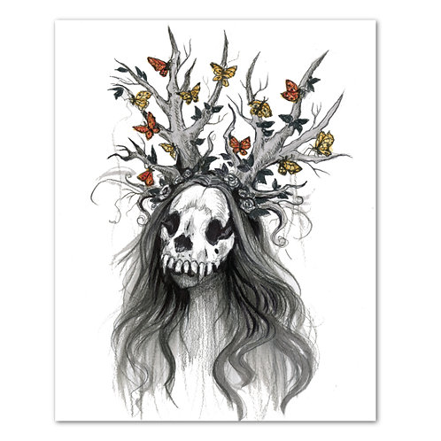 "Cassandra the Witch - 8"" x 10"" Art Print"
