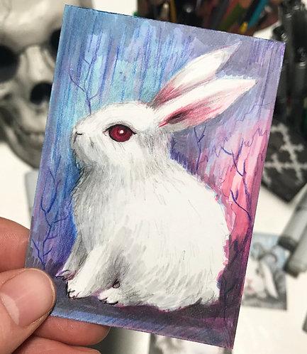 Mona Original Sketchcard