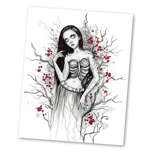 "Overgrown ""8"" x 10"" Art Print"