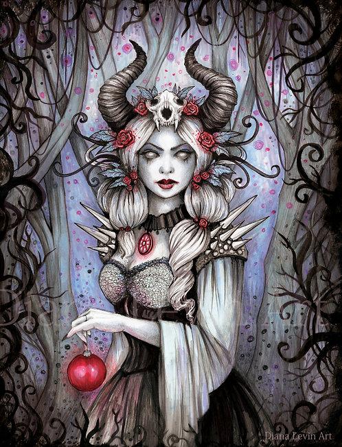 """Winter Queen 11"""" x 17"""" Art Print"""
