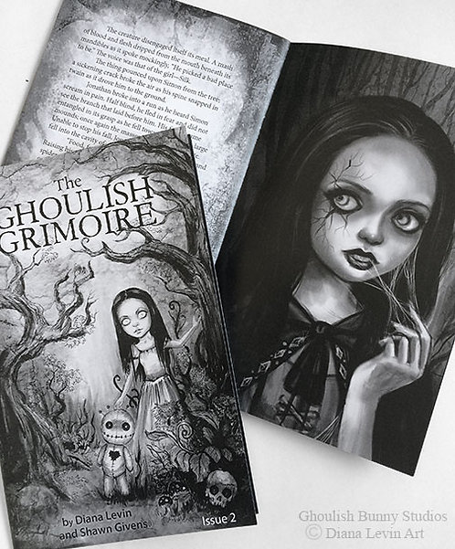 The Ghoulish Grimoire -Zine Issue 2