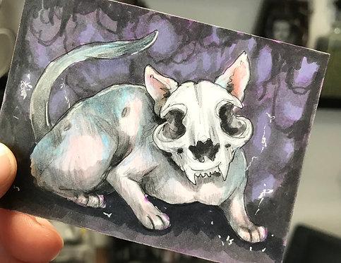 Blinx the Cat Original Sketchcard