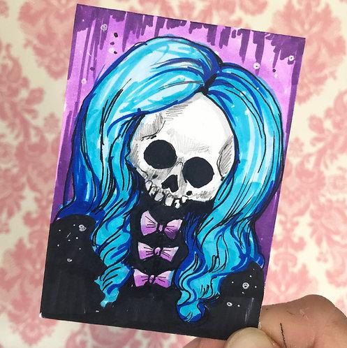 Velvet Original Sketchcard