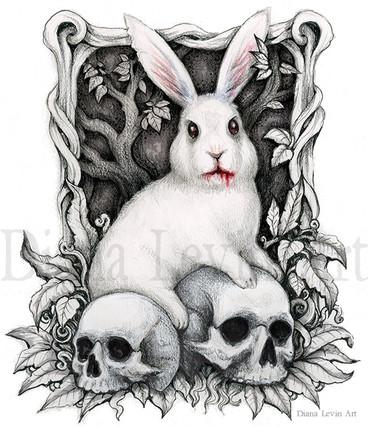 The Beast White Rabbit