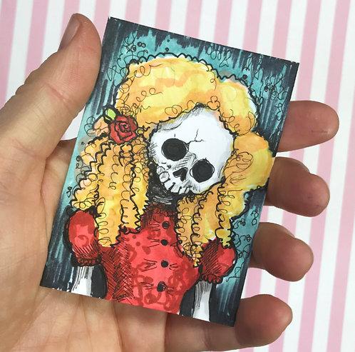 Ginger Original Sketchcard