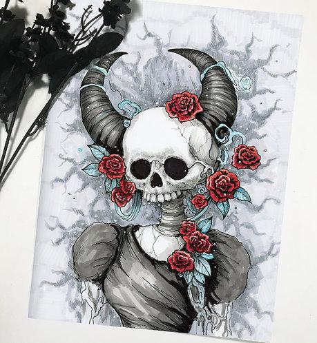 Divine - Angel of Pleasure Original Drawing