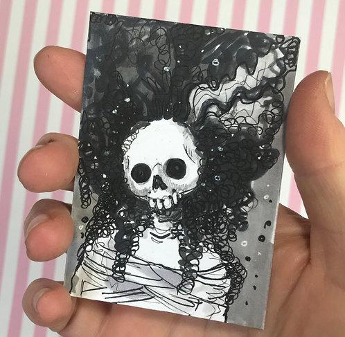 Brideskulla Original Sketchcard