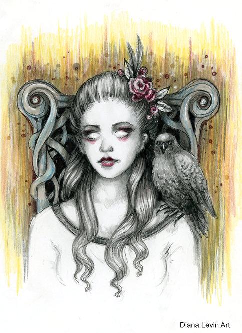 Isabelle Original Drawing