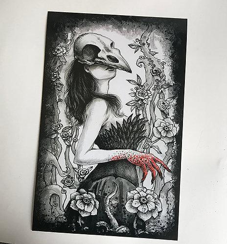 "Ravena 11"" x 17"" Art Print"