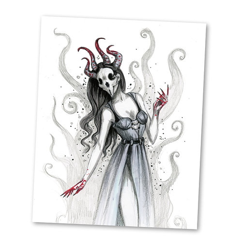 "Dancing Demonically ""8"" x 10"" Art Print"